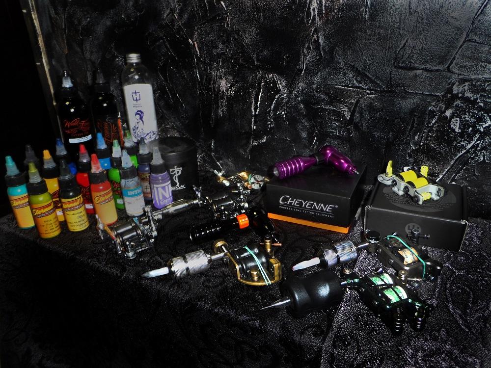Разнообразие тату-оборудования
